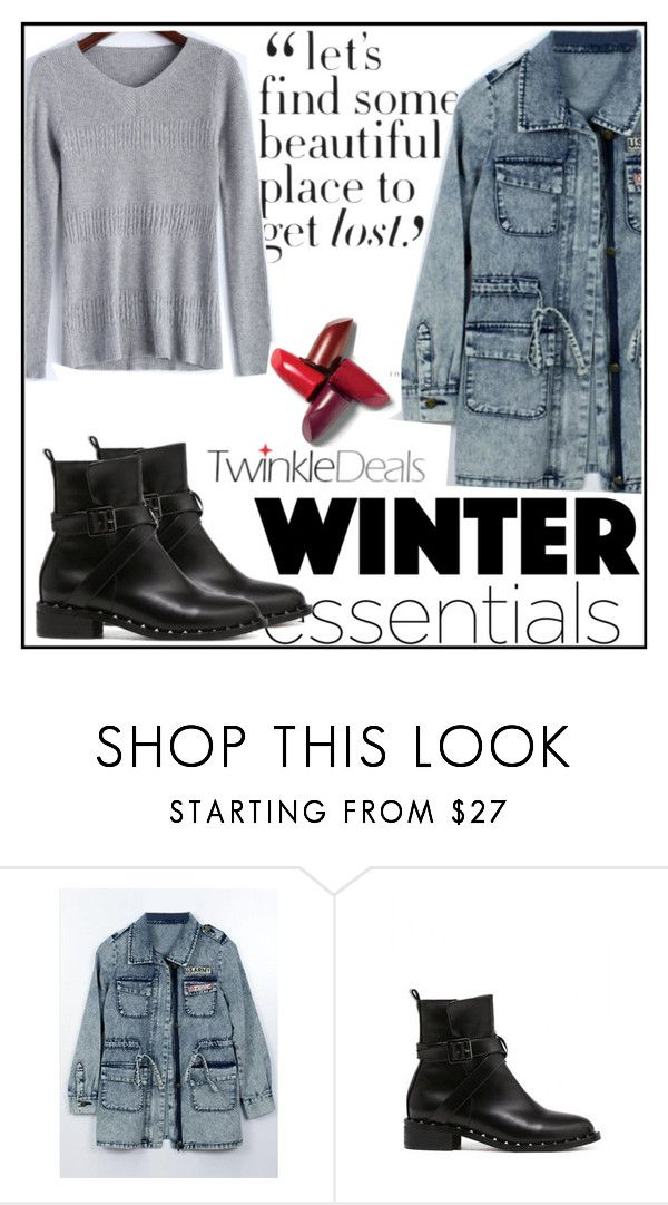 """""""Winter essentials!!"""" by amra-f ❤ liked on Polyvore featuring Sweater and twinkledeals"""