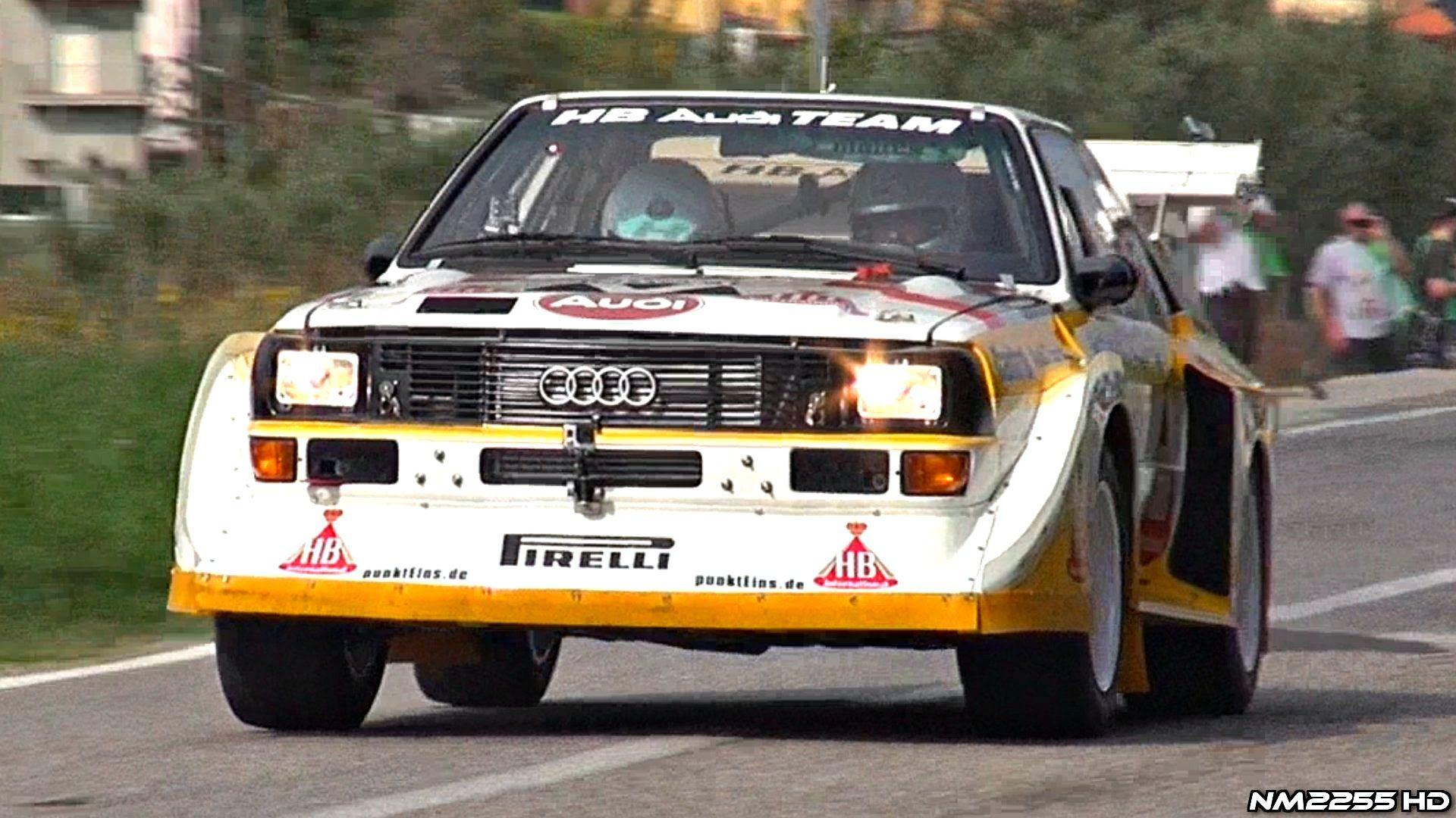 Audi Quattro S1 Group B Pure Sound Turn Up The Volume Rally Car Audi Quattro Audi