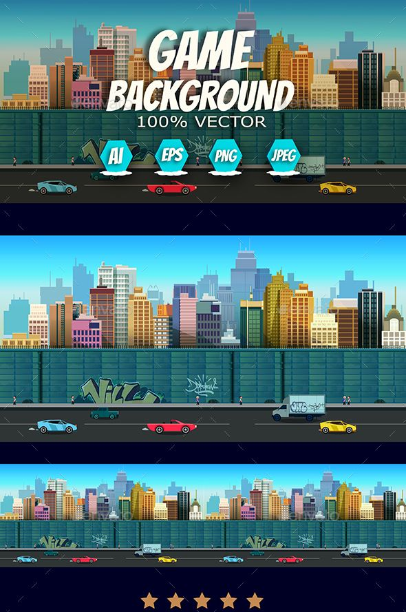 2d City Background Download here