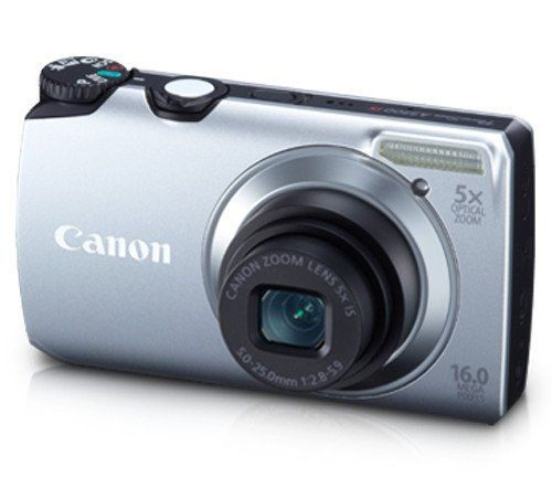 Canon Powershot A3300 Is 16 Mp Digital Camera With 5x Optical Zoom Silver Price 159 00 Sale 109 95 Cl Best Digital Camera Powershot Digital Camera
