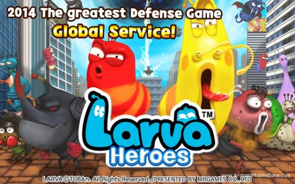 Click on download button below to download Larva Heroes