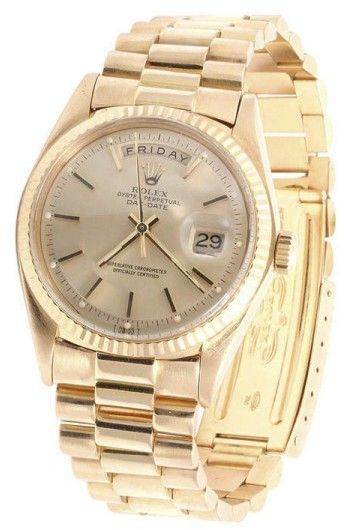 50735284e59 Rolex Day-Date President 1803 18K Yellow Gold 36mm Mens Watch ...