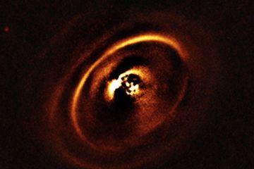Tourbillons de la planète Naissance Révélé avec le Very Large Telescope de l'ESO (Photos)
