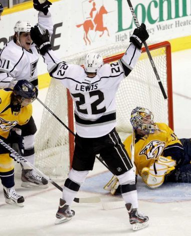 Trevor Lewis Of The La Kings Played With The Des Moines Buccaneers