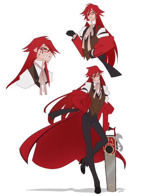 Looking at their design, I´ve realized that Grell Sutcliff´s