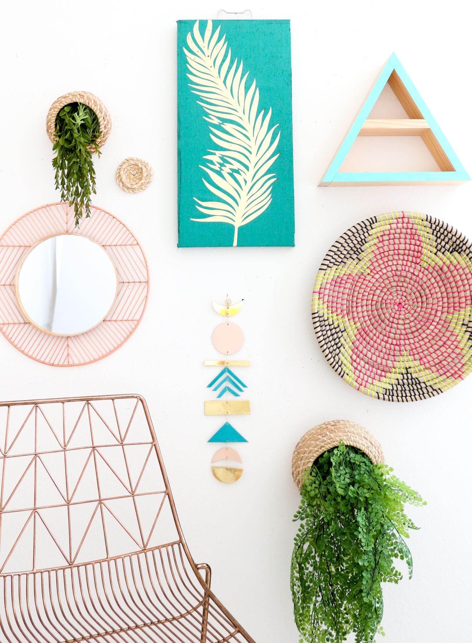Make a simple leather wall hanging leather wall wall hangings and