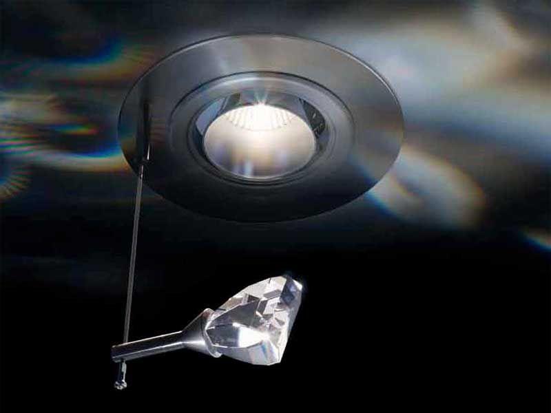 Low Voltage Halogen Spotlight FLAME - Swarovski
