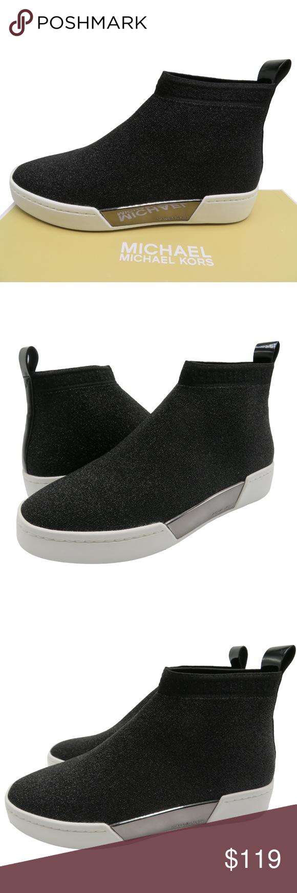MICHAEL KORS GROVER Slip-On Sneakers Metallic MICHAEL KORS GROVER Slip-On Sneake…