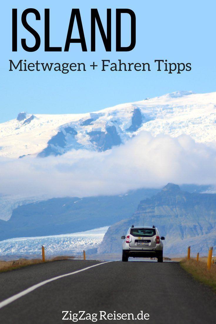 Island Mietwagen Erfahrungen + Autofahren Tipps (mit Video) - EUROPA Reiseziele -