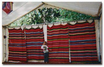 Mexican Blanket Backdrop