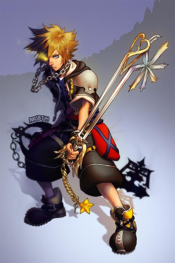 Anti Sora By Amsbt On Deviantart Kingdom Hearts Sora