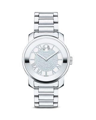 Fendi Crazy Carats Stainless Steel Rotating Gemstones Watch, 38mm   Bloomingdales's
