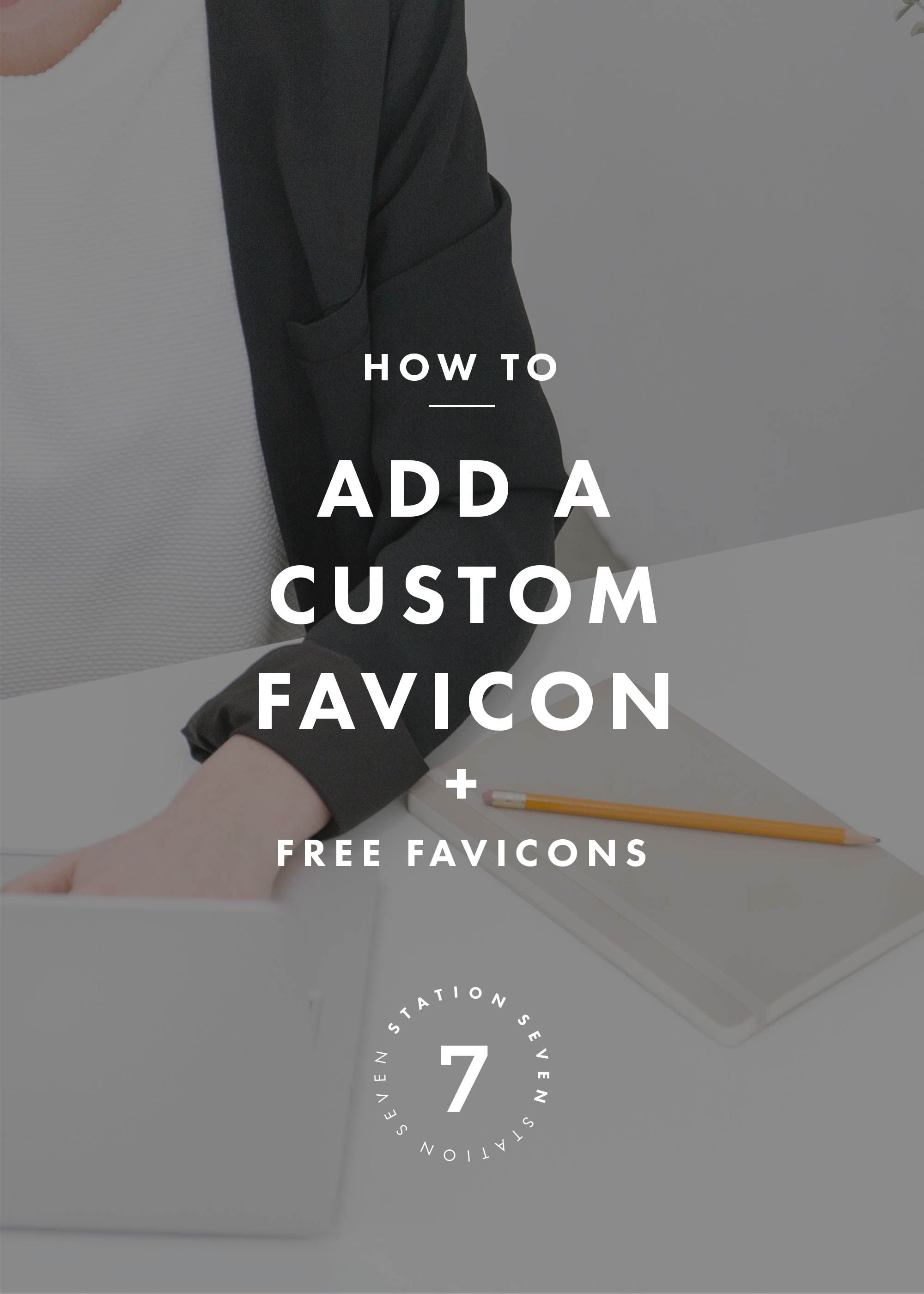 how to add a custom favicon free favicon templates pinterest