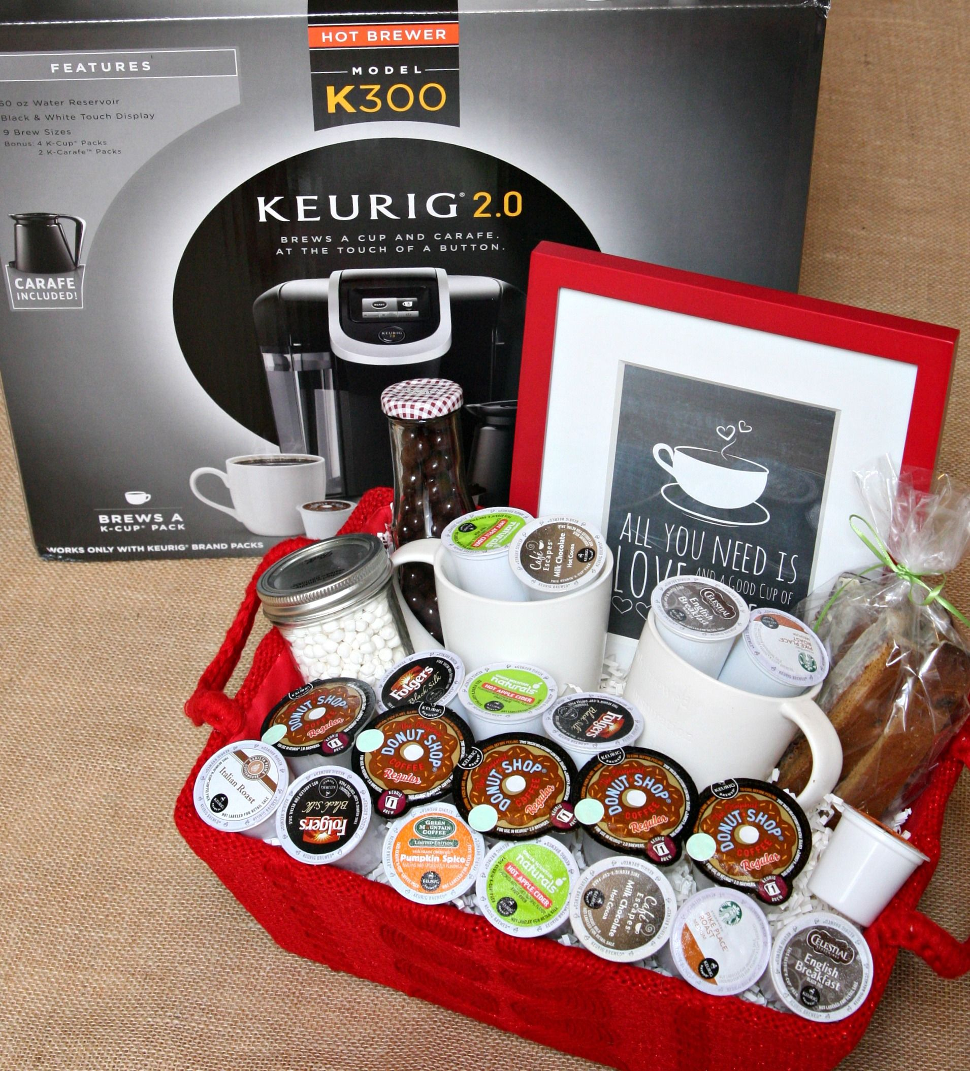 give the gift of coffee | gift ideas | pinterest | gift baskets