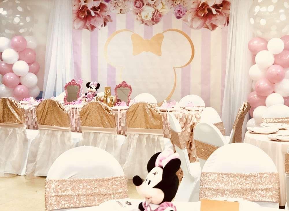Minnie Mouse Royal Princess Birthday Party Ideas Royal Princess