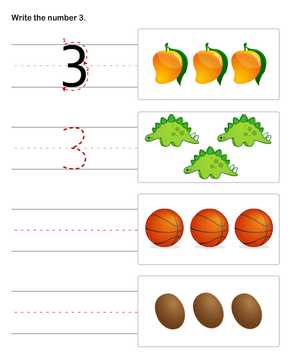 Pre K Worksheets Numbers Free Worksheets Library | Download and Print ...