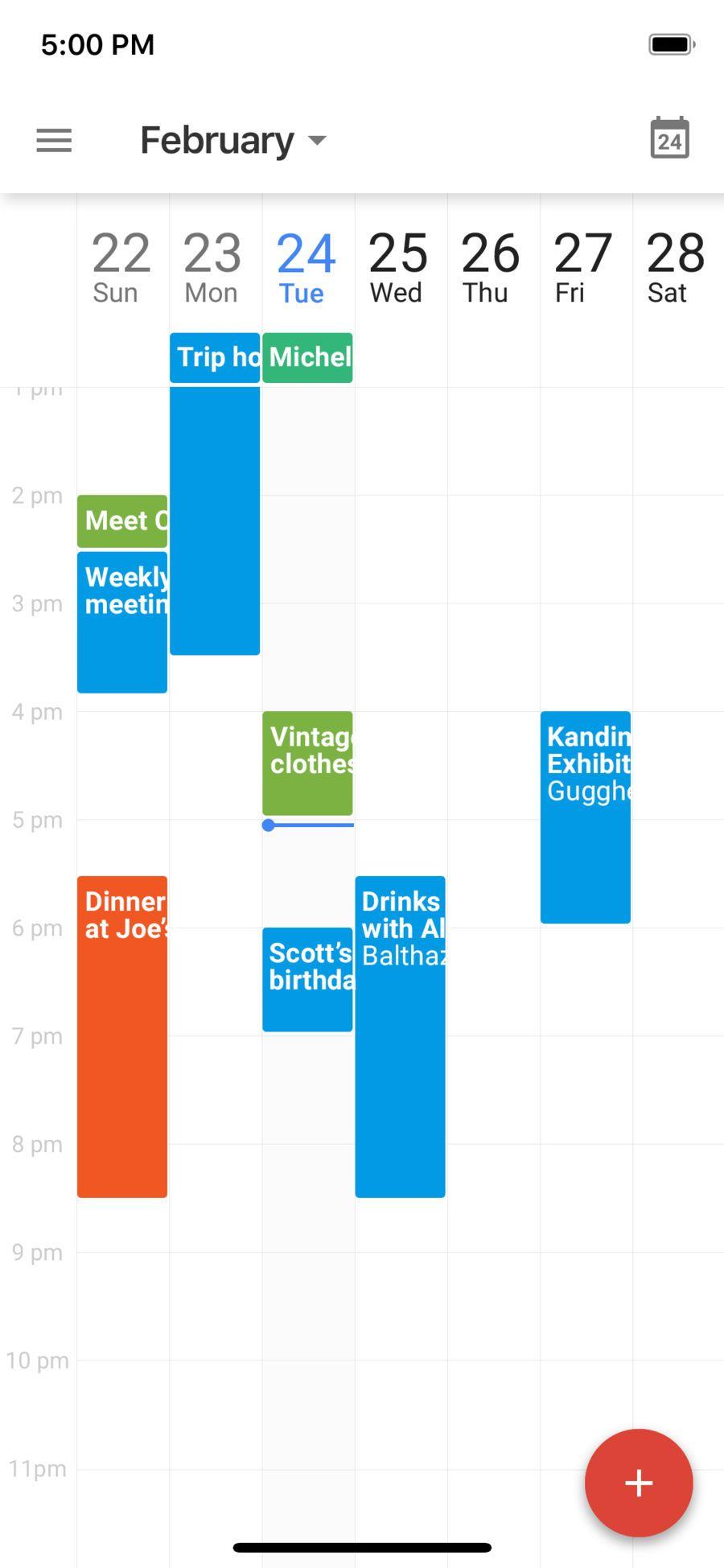 Google Calendar Time Planner iosProductivityappapps
