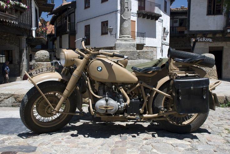 Old Bmw Motorbike By Nayia Ginn Bmw Motorbikes Motorbikes Old