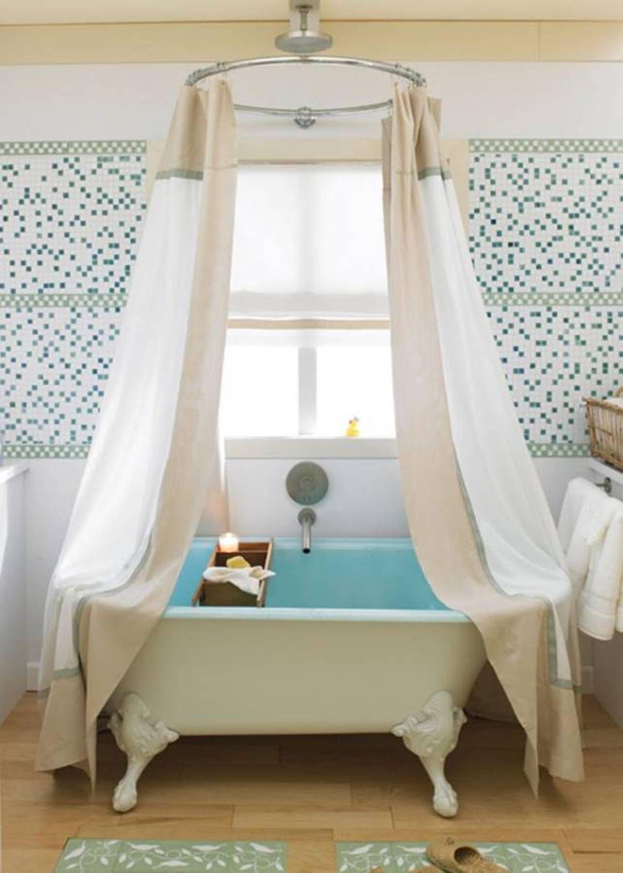 Bathroom , Bathroom Claw Foot Tubs : White Claw Foot Tubs With ...