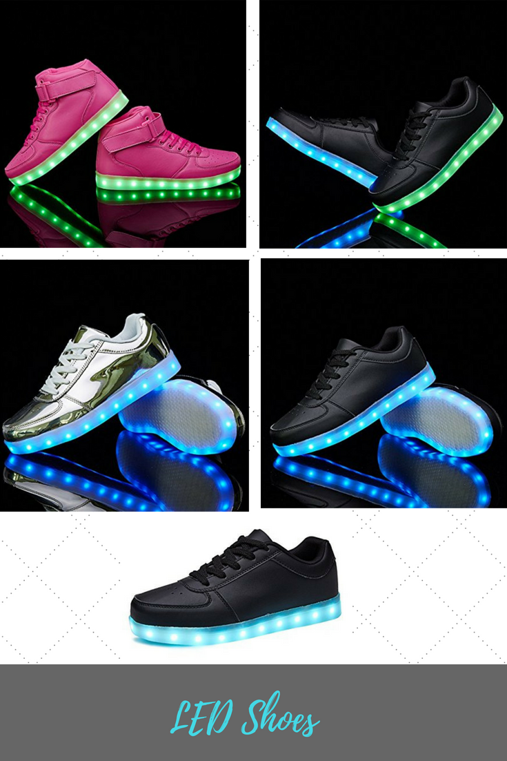 ed057d7d787fc Sanyes USB Charging Light up Shoes Sports LED Shoes Dancing Sneakers ...