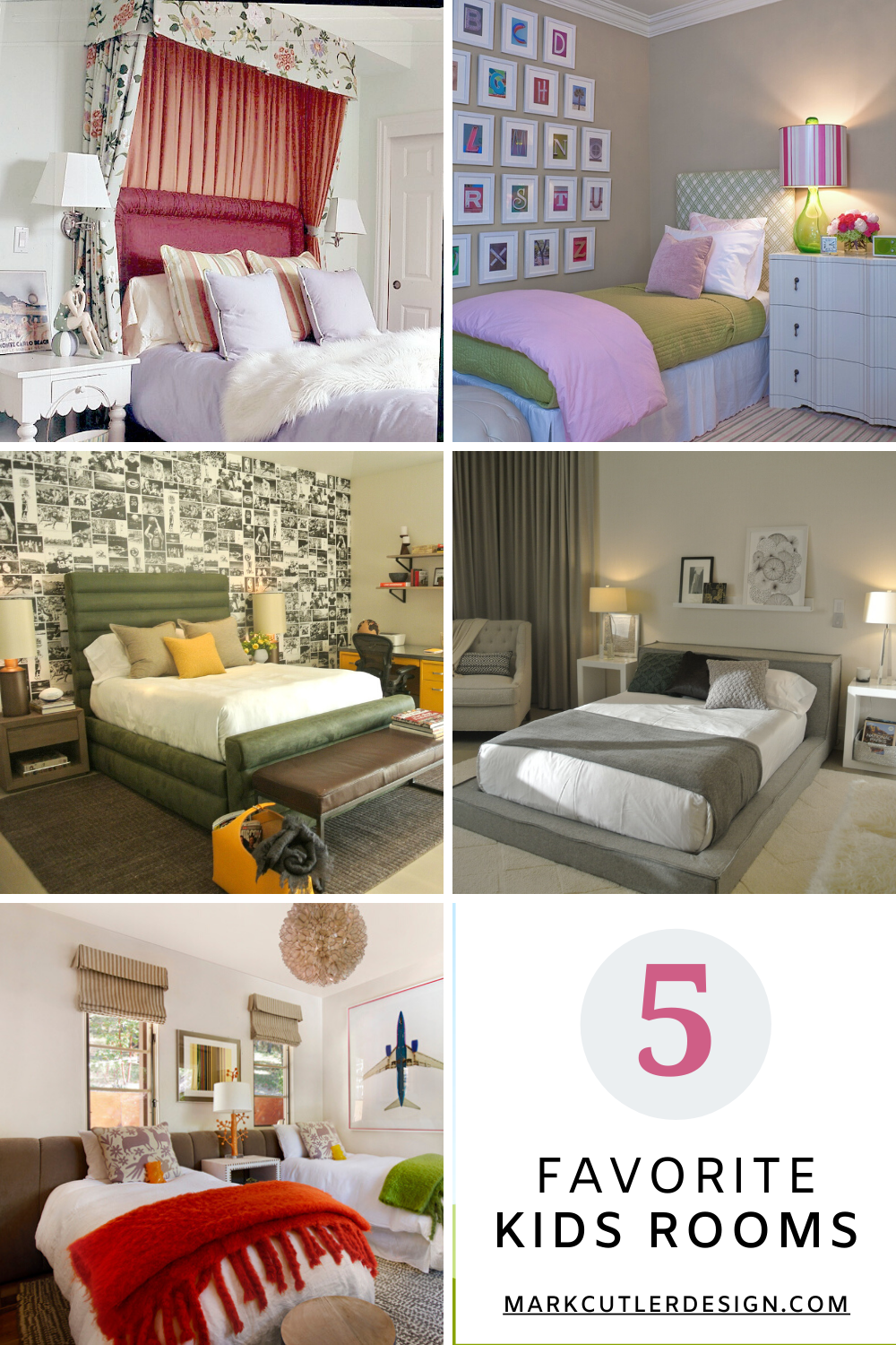 My 5 Favorite Kids Rooms From Modern To Traditional Kids Bedroom Designs Kids Room Design Room Design
