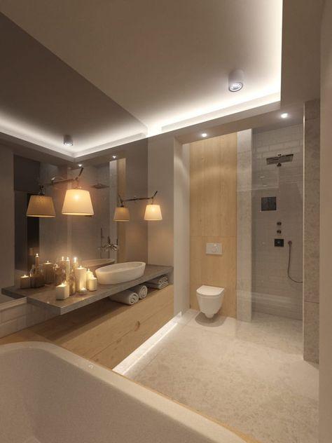 Badezimmer von tissu architecture modern interrior for Sala da bagno design