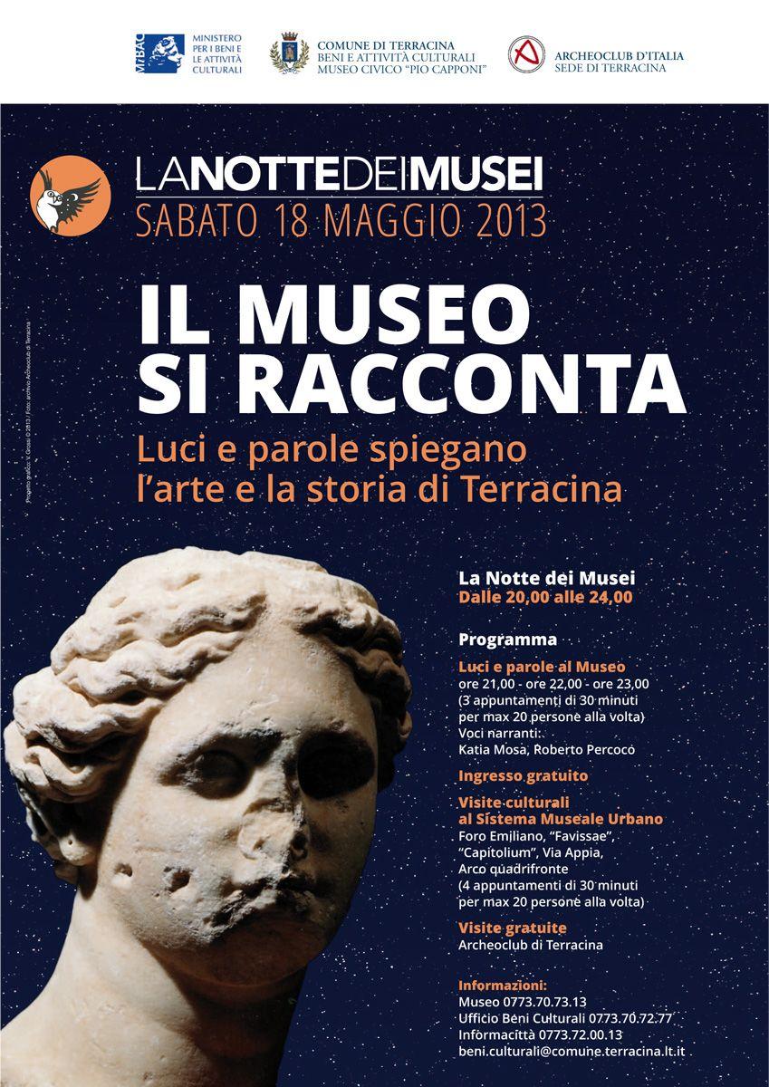 Il Museo si racconta a Terracina #ndm13 #nottedeimusei