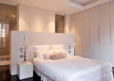 5 fa ons de s parer la salle de bain dans une suite parentale d couvrez plus d 39 id es sur les. Black Bedroom Furniture Sets. Home Design Ideas