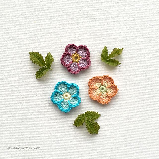 Ravelry: Sunday Flower pattern by In the Yarn Garden | Crochet I ...