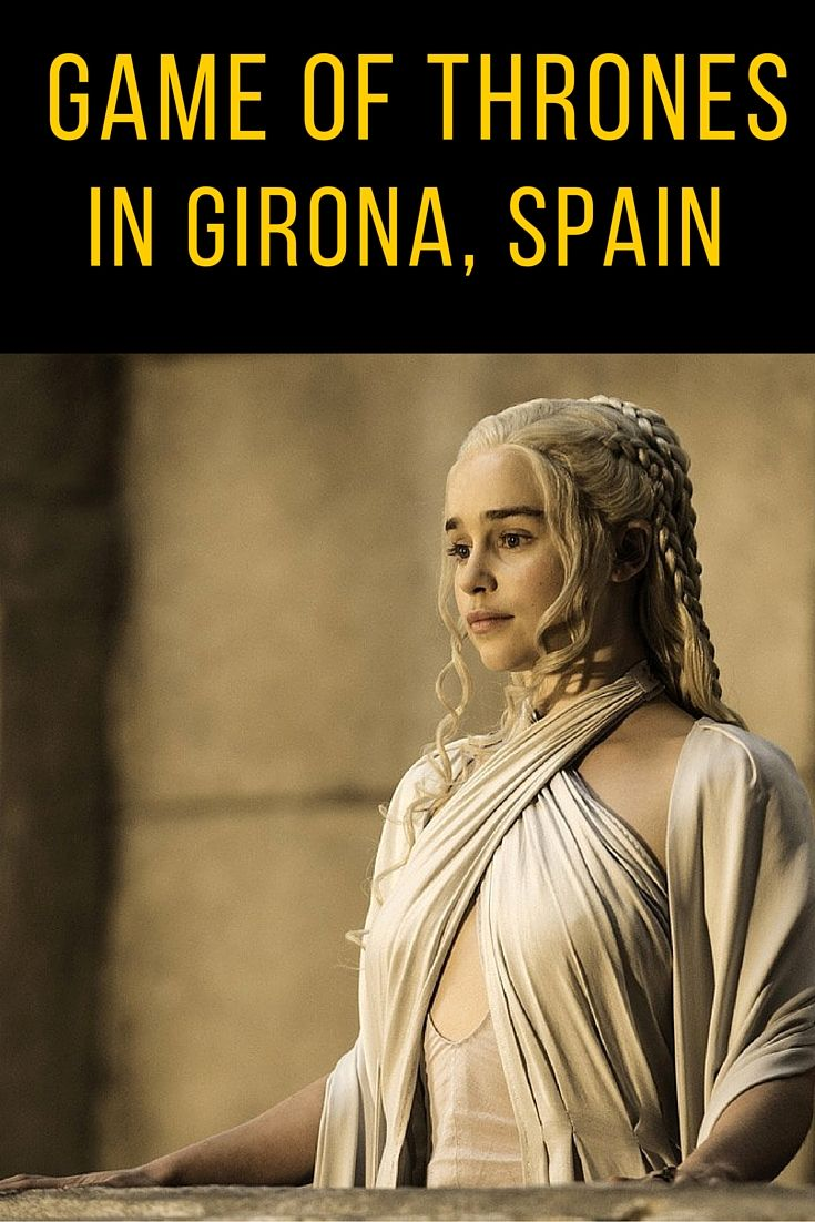 Game of Thrones has chosen Girona as one of its scenarios for the 6th season, it is the first time HBO on GOT films in Catalonia. Girona is an amazing city, 100 km from Barcelona, near the well known Costa Brava.