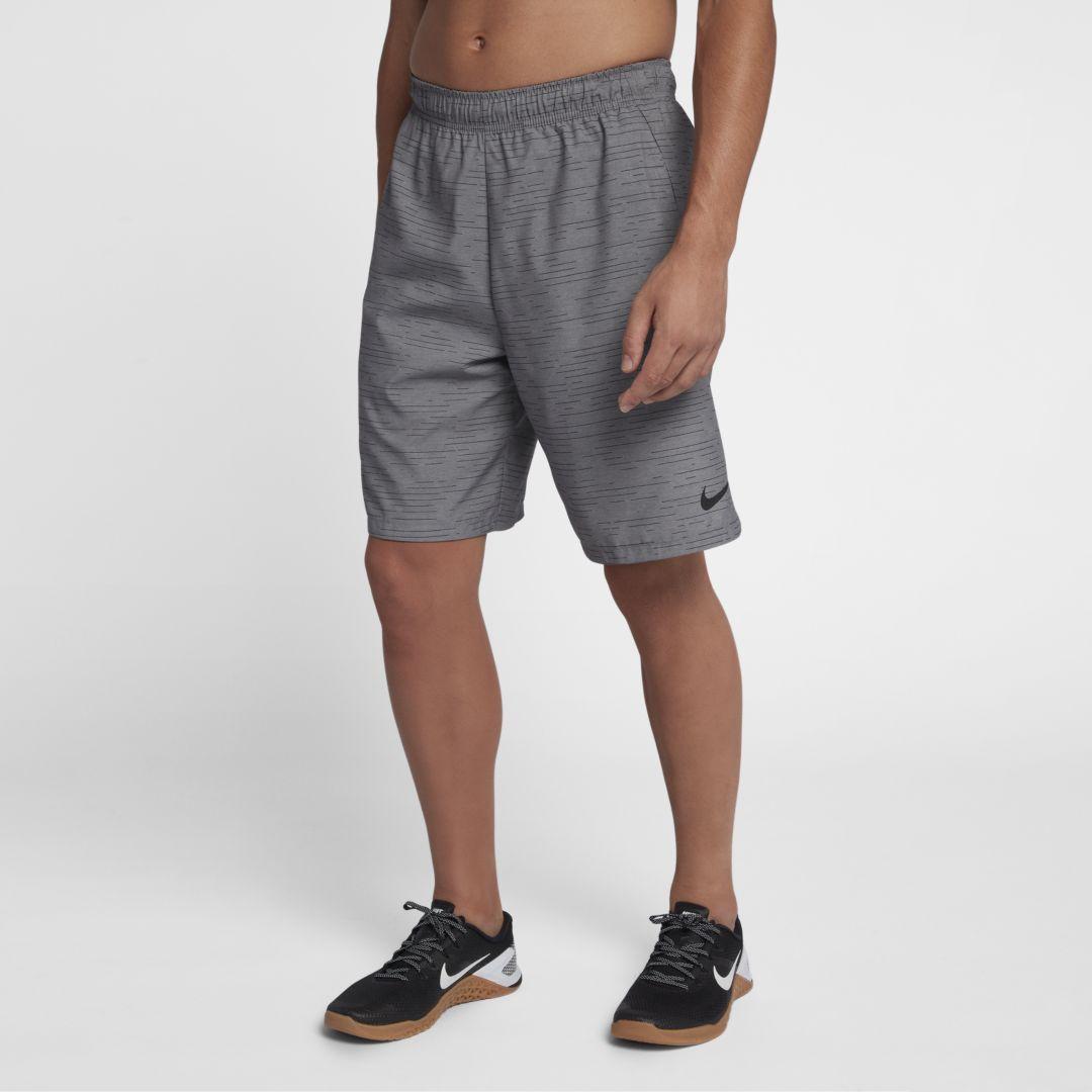 55a9d87f606 Nike Flex Men s Woven Training Shorts Size 2XL (Gunsmoke)