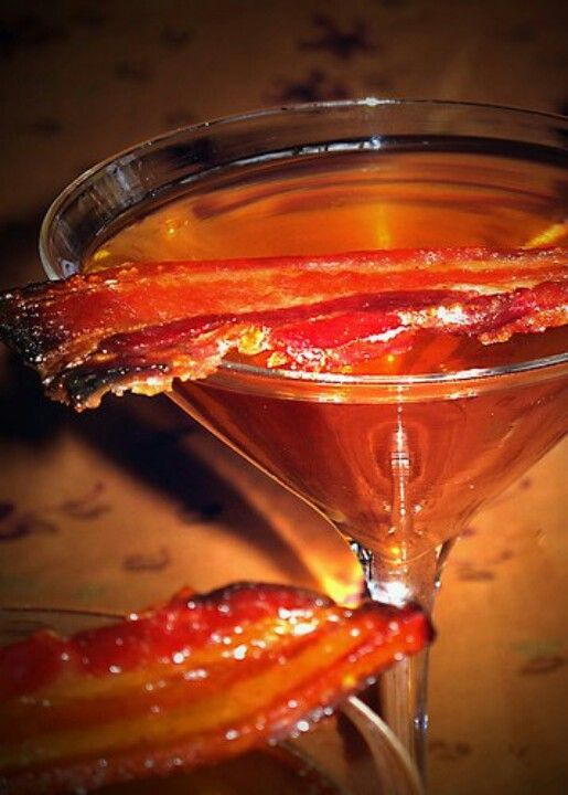 The bacon martini..
