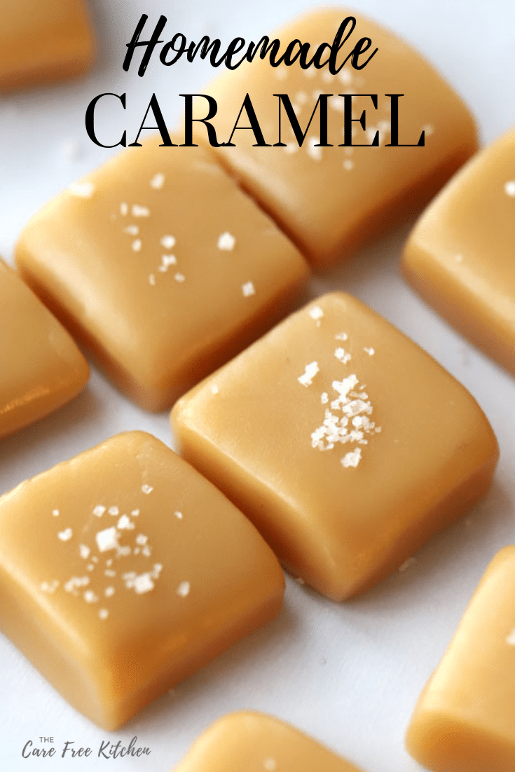 Homemade Caramel | The Carefree Kitchen