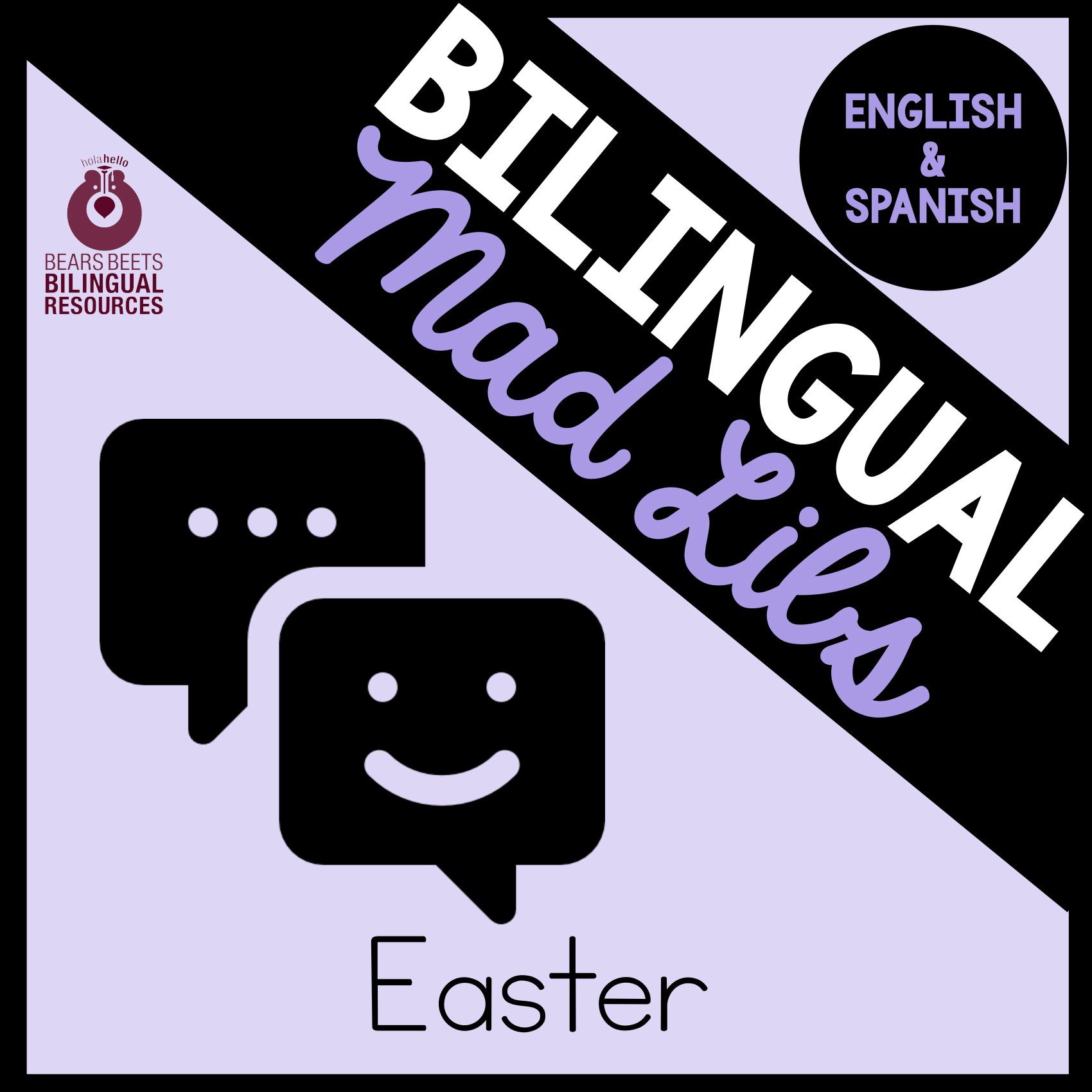 Bilingual Easter Mad Libs