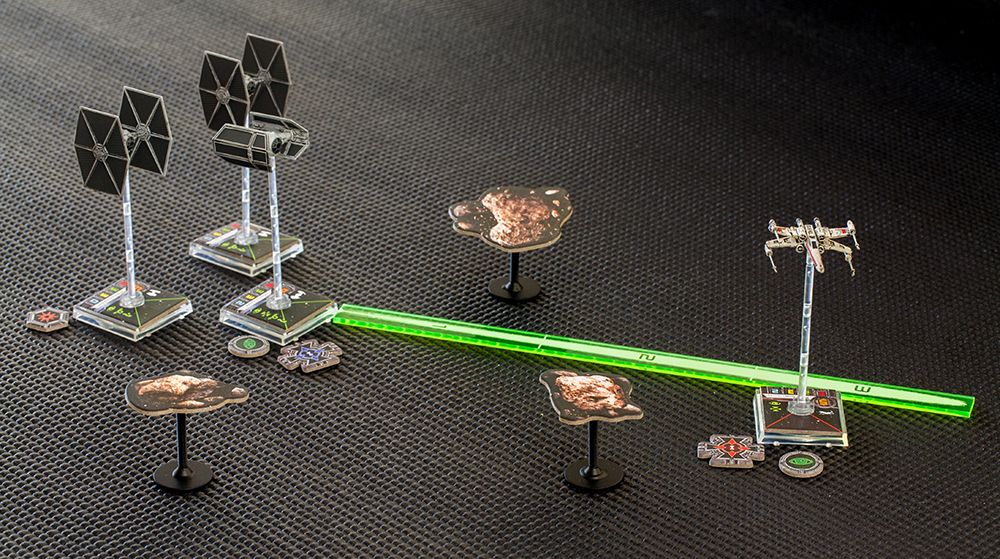 For the love of gaming X-Wing storage solution, acrylic templates
