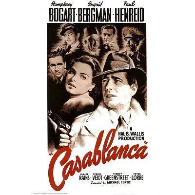 Casablanca - Movie Poster: Regular (Size: 24'' x 36'') Poster Print, 24x36 Poster Print, 24x36 - http://classicpostercollector.com/product/casablanca-movie-poster-regular-size-24-x-36-poster-print-24x36-poster-print-24x36/