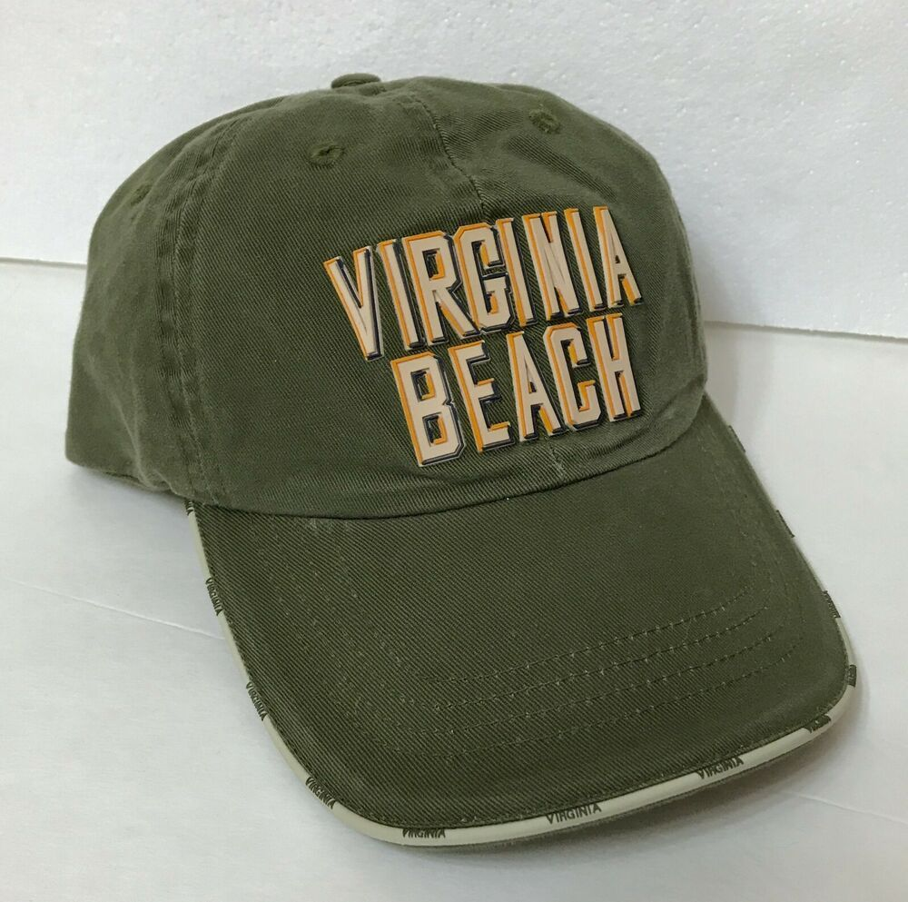 Virginia Beach Hat Relaxed Fit Dad Cap