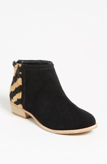 084824deb2d New DV By Dolce Vita Womens Mani Suede Tiger Chelsea Ankle Booties ...