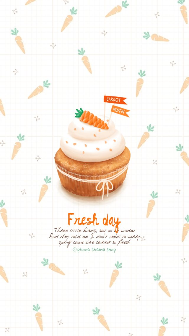 """Friend recommended """"FreshDay 당근케이크"""" KakaoTalk theme. Check it out now on Phone Themeshop (for iOS)?  #KakaoTalkTheme link : http://pts.so/go.php?i=912086  #PhoneThemeshop app available on the App store http://pts.so/go.php?i=461908. Please install the app to check 3the shared KakaoTalk theme."""