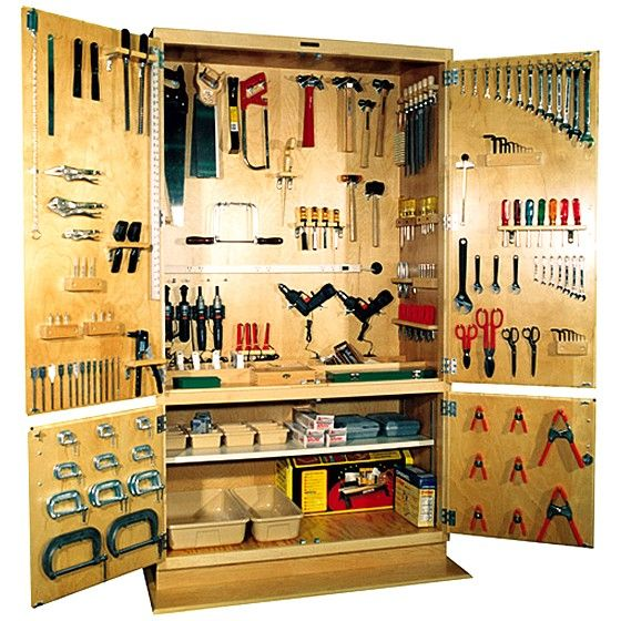 Garage Tool Storage Ideas Tools Cabinet