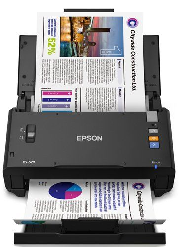Epson WorkForce DS-520 Sheet-Fed Color Document Scanner | Office