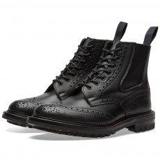 END. x Tricker's Ellis Boot (Black Hass & Scotch Grain)