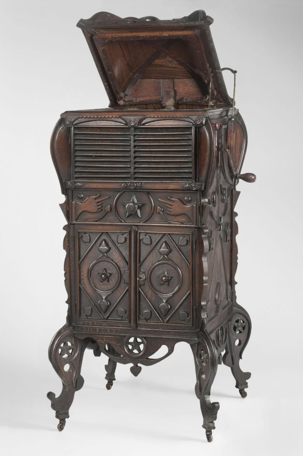 Victrola Cabinet William Plummer 1915-30 - Victrola Cabinet William Plummer 1915-30 Furniture: Antique To