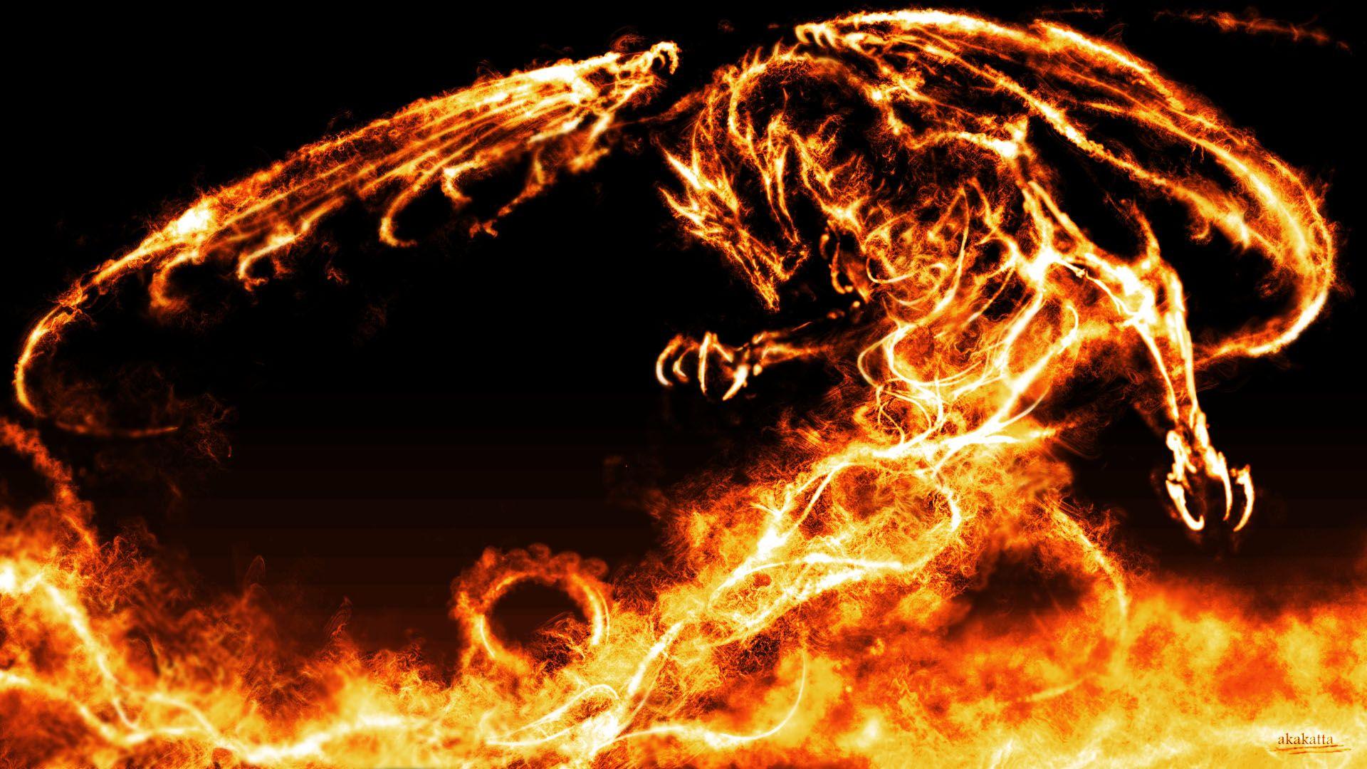 Fire Dragon HD Desktop Wallpaper Imágenes de dragón