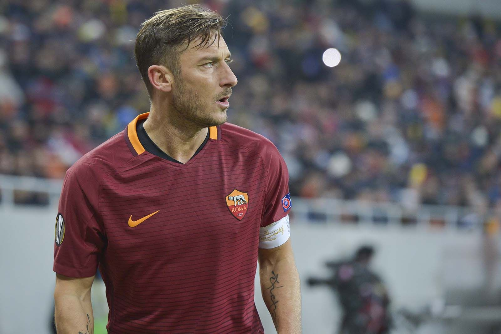 Francesco Totti Captain Legend ASRoma SerieA Calcio Totti
