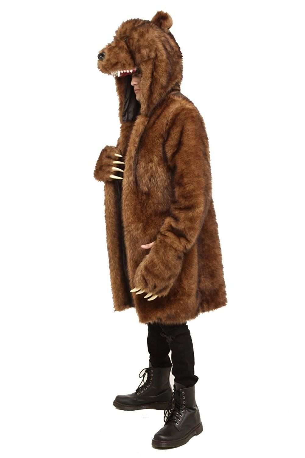 Amazon.com: Workaholics Official Bear Coat: Clothing