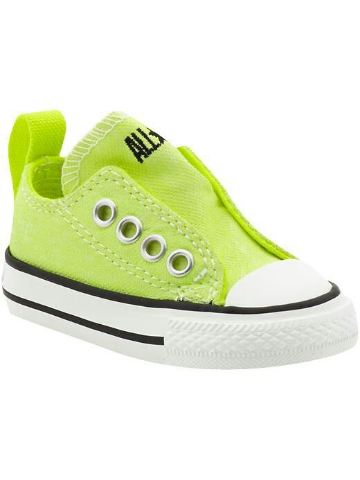 93513152b65b Lime green infant Converse
