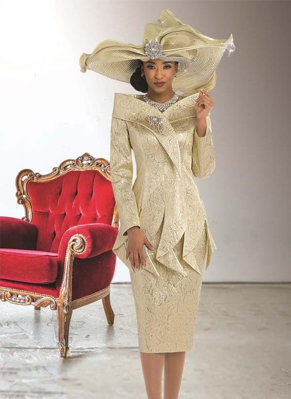 d42dc42220a78 Donna Vinci 5512 Womens Jacquard Suit More