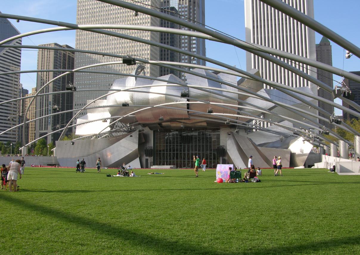Millennium Park Jay Pritzker Pavilion