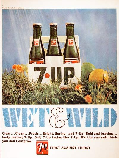 1966 7up wet wild